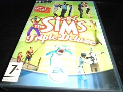 The Sims Triple Deluxe   Pc game