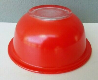 Pyrex - Rainbow Red - 1 L Clear Bottom Mixing Bowl #322