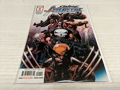 Savage Avengers # 1 (Marvel, 2019) 1st Print Main Cover David Finch