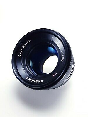 Carl Zeiss Planar T* 50mm f/1.4 Contax/Yashica C Y Mount - Lens Cleaner + Caps