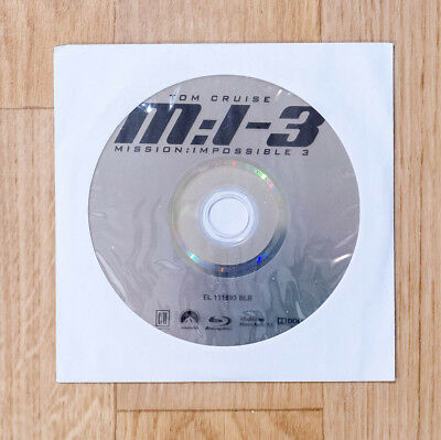 Blu ray MISSION IMPOSSIBLE 3 M:I-III neuf