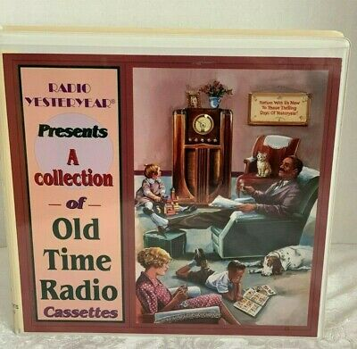 Radio Yesteryear A Collection of 10 Old Time Radio Cassettes Volume 1 Excellent