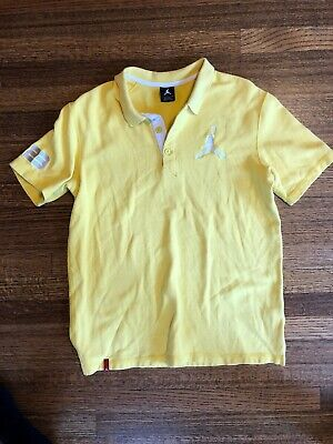 8e6638fdfff4 ... Shirt XLarge Solid Orange Blue Giant Jump Man XL.  17.99 Buy It Now or  Best Offer 13d 15h. See Details. Michael Jordan Yellow Polo Shirt3 Button  Front.