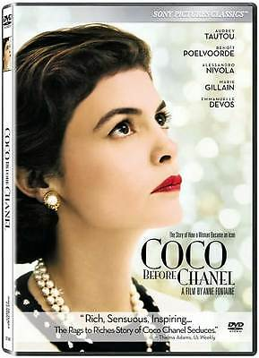 Coco Before Chanel Audrey Tautou, Benoît Poelvoorde DVD