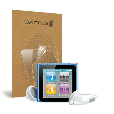 Celicious Vivid Apple iPod Nano 6 Invisible Screen Protector [Pack of 2]