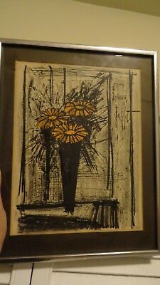 Super Bernard Buffet Canal St Martin Framed Lithograph Print Mid Home Interior And Landscaping Ologienasavecom