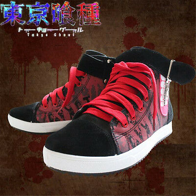 Tokyo Ghoul Kaneki Ken Skate Shoes Casual Canvas Shoes Cosplay Anime  Shoes Cool