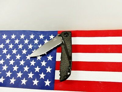 """*Mint/Hard-To-Find* 2013 *Gerber """"Icon"""" Tactical Liner-Lock Knife* Discontinued"""