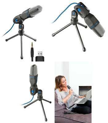 Trust Mico USB Microphone and Stand for PC and Laptop, USB Connected