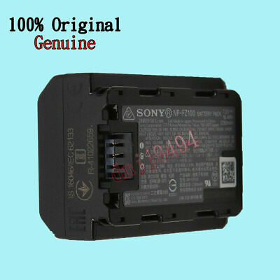 Sony NP-FZ100 Rechargeable Battery for ILCE 9 A9 A7RM3 A7RIII a7 III 2280mah 4.3