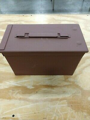 50 Cal Ammo Can Box Pack Military M2A1 Metal Storage Painted Metal Rust Primer
