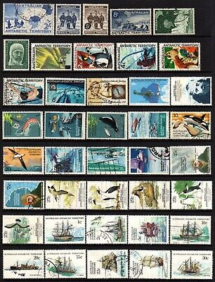 AAT Australian Antarctic Territory, 3 Pages, 94 Stamps, Good/Fine Used, see pics
