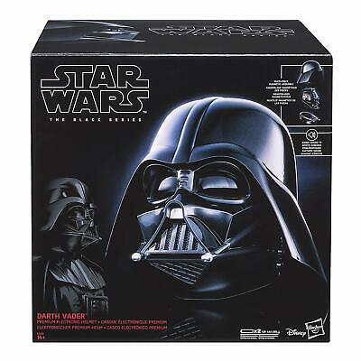 Star Wars The Black Series Darth Vader Mask Premium Electronic Helmet Brand New!