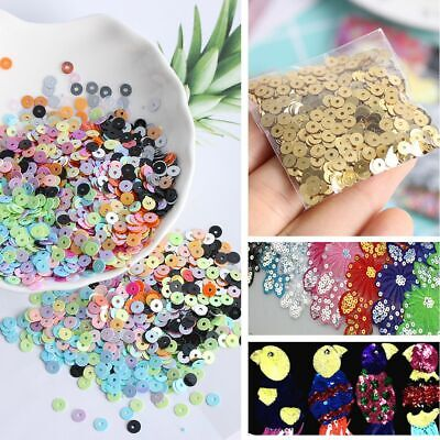 Home Decor Shiny DIY Jewelry Wedding Sewing Paillette Loose Sequin Faceted Bead