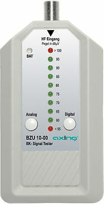 Axing BZU 10-00 Analogue Digital Satellite Signal Tester for CATV cable TV