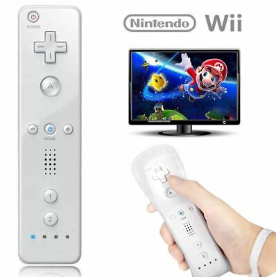 White Remote Wiimote Nunchuck Controller Set Combo for Nintendo Wii Game 0130