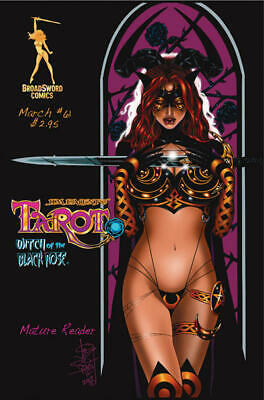 Tarot Witch of the Black Rose 61a Broadsword Jim Balent sexy NM FREE UK POST