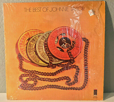 """JOHNNY TAYLOR - The Best Of (STAX Records) - 12"""" Vinyl Record LP - EX"""