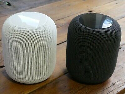 Apple Homepod Home Smart Speaker - Space Gray (MQHW2LL/A) or White (MQHV2LL/A)