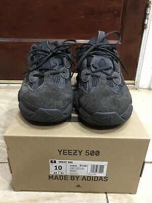 2d854288f Adidas Yeezy 500 Mens Size 10 Utility Black F36640 With Box 100% Authentic