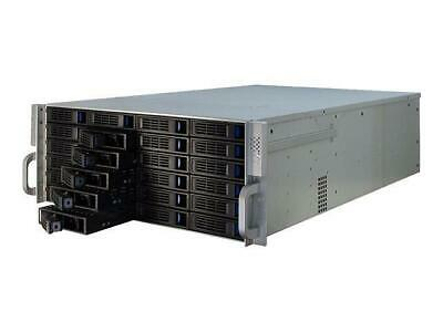 TGC Rack Mountable Server Chassis 4U 650mm Depth with 24 Bays Hot-Swap and