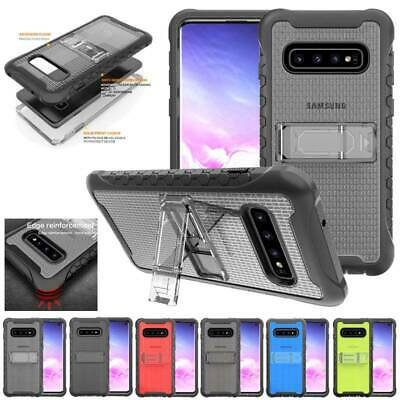 For Samsung Galaxy S10 Lite/Plus Hybrid Rugged Hard Shockproof Case Stand Cover