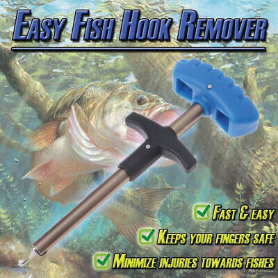 Easy Fish Hook Fast Remover New Fishing Tool Minimizing The Injuries Tool Tackle