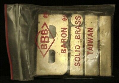 LF22109 *NOS* VINTAGE 1970s/80s CUT-OUT NAME ***BILL*** SOLID BRASS BELT BUCKLE