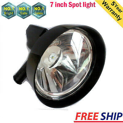 """7""""Inch High Power Rechargeable spotlight handheld hunting Spot light 100W"""