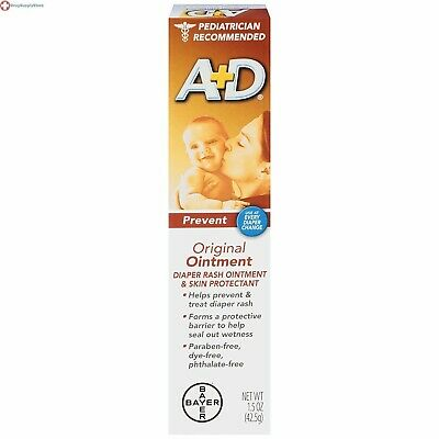 A&D Original Ointment 1.5 Ounce Diaper rash Ointment and Skin Protectant