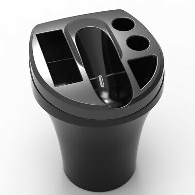 Charger Cup Tray Ashtray Cigarette Black Usb Car Cup Holder Gift