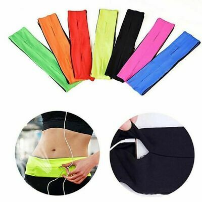 Waist Exercise Fitness & Running Belt Bag Flip Style Pouch For Mobile Cash Keys.