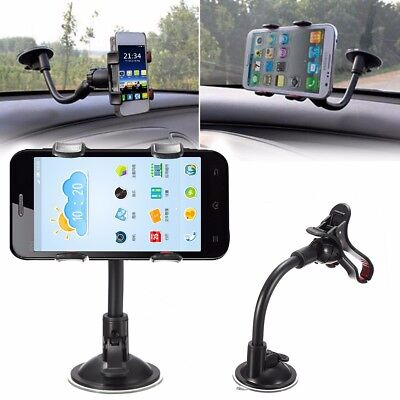 360° Universal In Car Windscreen Dashboard Phone Holder Mount GPS PDA Cellphone