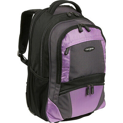 Samsonite Wheeled Backpack - Medium 2 Colors Rolling Backpack NEW
