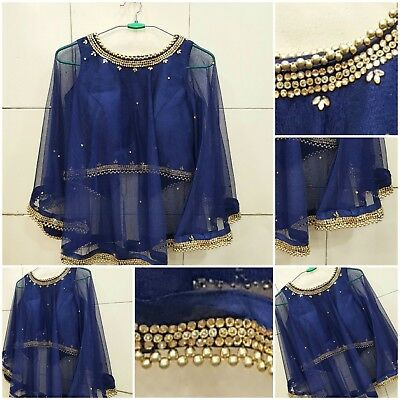1e18076771 SHRUG FANCY TOP fancy frill sleeves blouse readymade designer saree ...