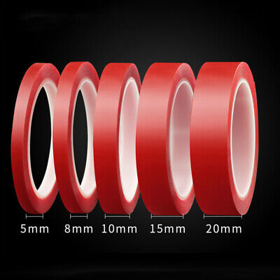 3M 2/5/8/10/20 MM Vehicle Double Sided Sticker Car Adhesive Acrylic Foam Tape GL