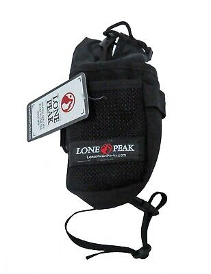 Lone Peak Black Canteen Handle Bar Bag