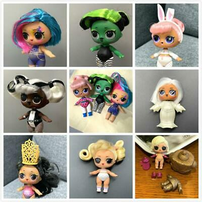 LOL Surprise #HAIRGOALS SNOW BUNNY BHADDIE Her Majesty QUEEN Dolls-COLOR CHANGED