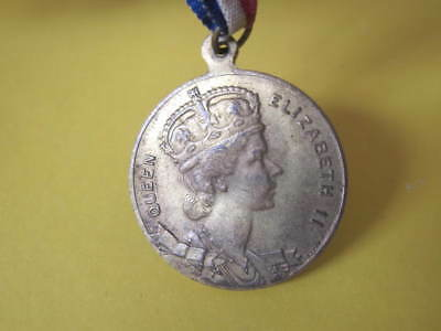 Royalty 1954 Royal Vist to Australia Medal 30mm dia