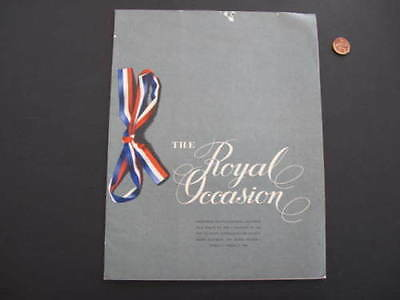 Australia The Royal Occasion 1958 Souvenir Book
