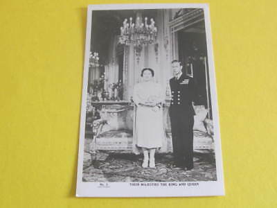 Duke & Duchess of York Later King & Queen Royalty Postcard