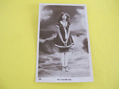 Miss Gabrielle Ray Actress Glamour Postcard