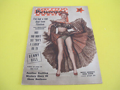 1955 Picturegoer Magazine Film and Entertainment Weekly 28 pages