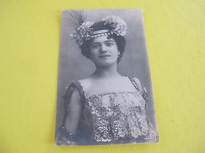 Glamour Lady French Postcard Postally used