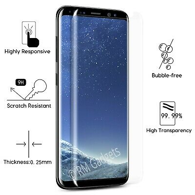 For Samsung Galaxy S9 Plus - 100% Genuine Tempered Glass Screen Protector