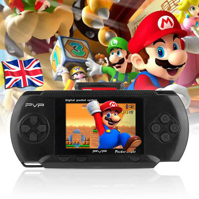 """PXP PVP Slim Station Game Console 3000 Games Portable Handheld Player Black 2.7"""""""