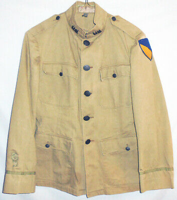 -RARE- WWI -US Army Chemical Corps- Vintage Officer's Doughboy Uniform  w/Patch