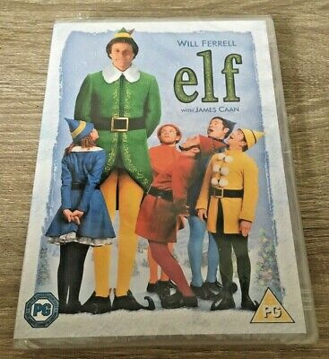 Elf (Dvd, 2005) Christmas Xmas Girls Boys Family Fun Film Dvd Christmas Bniw New