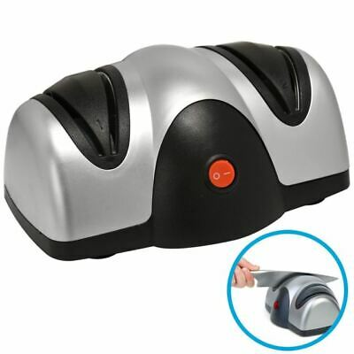 Professional Electric Two Stage Knife & Scissor Sharpener Grind Sharpen Hone