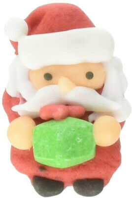 Wilton Santa with Present Icing Decorations, 12-Count